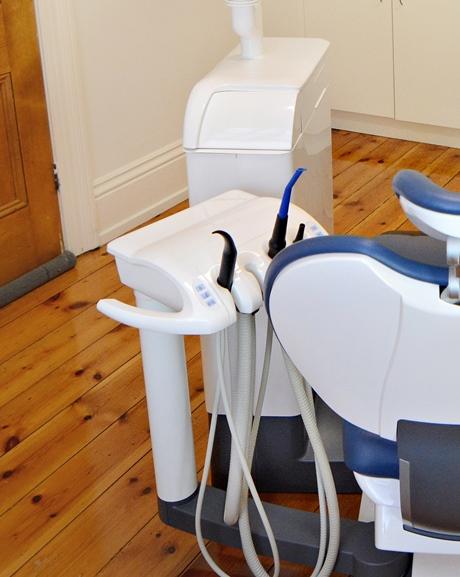 Dental Chair inside