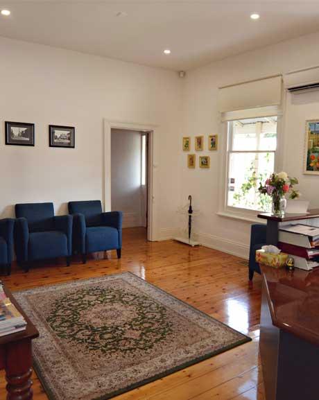 Reception area image