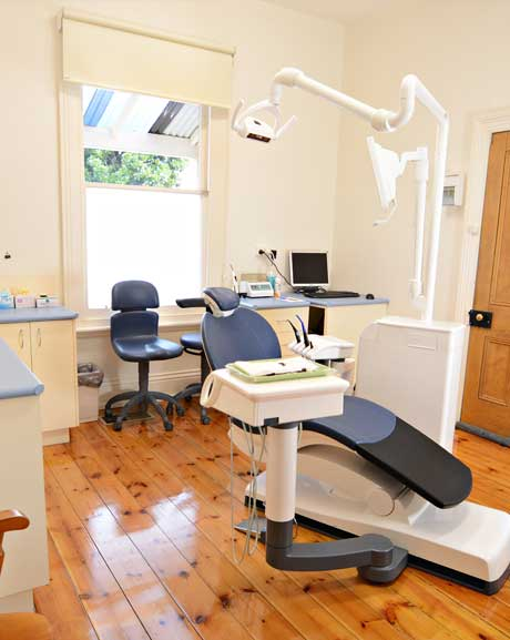Dental equipment in the launceston office
